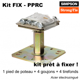 Kit FIX PPRC - pied de...