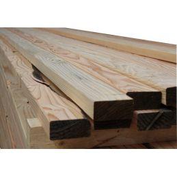 ossature 45x95mm - douglas massif sec et raboté - bois déclassé pas cher