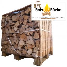 bois de chauffage en 33 cm - livraison france - certification BFC Bois Bûche
