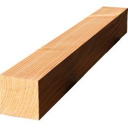 poteau douglas massif - bois raboté et séché à 18% - 145mm x 145mm - plusieurs longueurs disponibles !