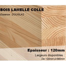 Poteau / Panne Bois Lamellé...