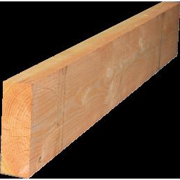 Panne charpente douglas 100x300 en 5m - construction bois / charpente traditionnelle / structure bois intérieur comme extérieur