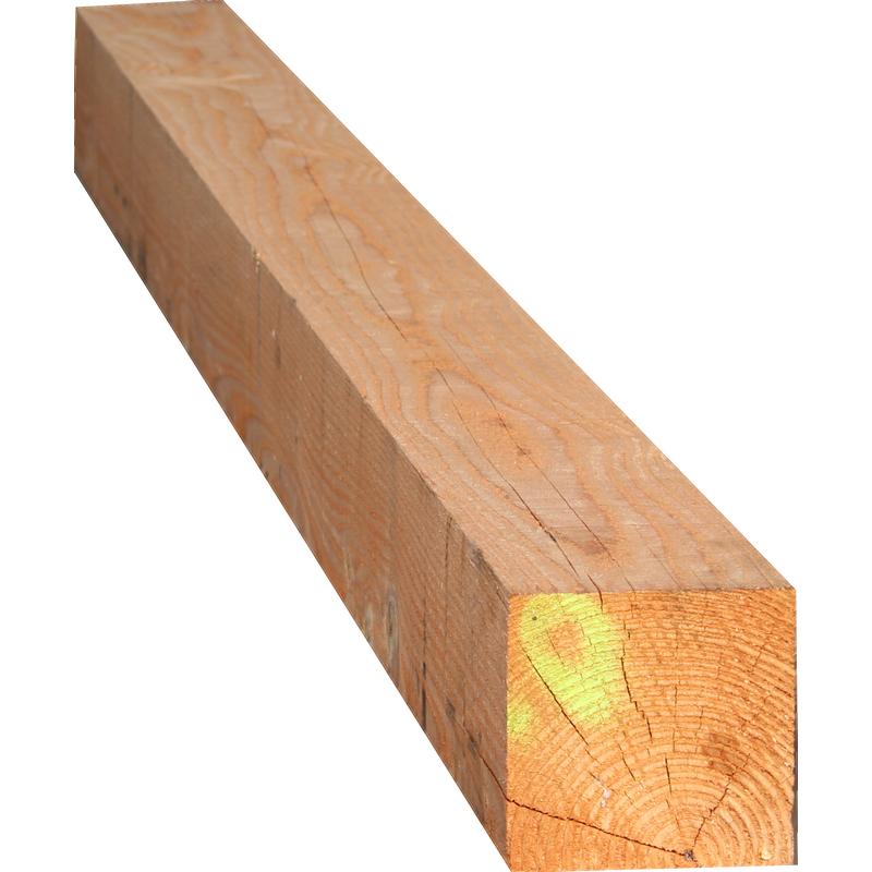 bois de charpente - bois de construction - poteau douglas brut 150x150mm en 4m