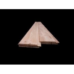 bardage clin douglas - 21mm d'épaisseur - bois naturel sans traitement - 100% français