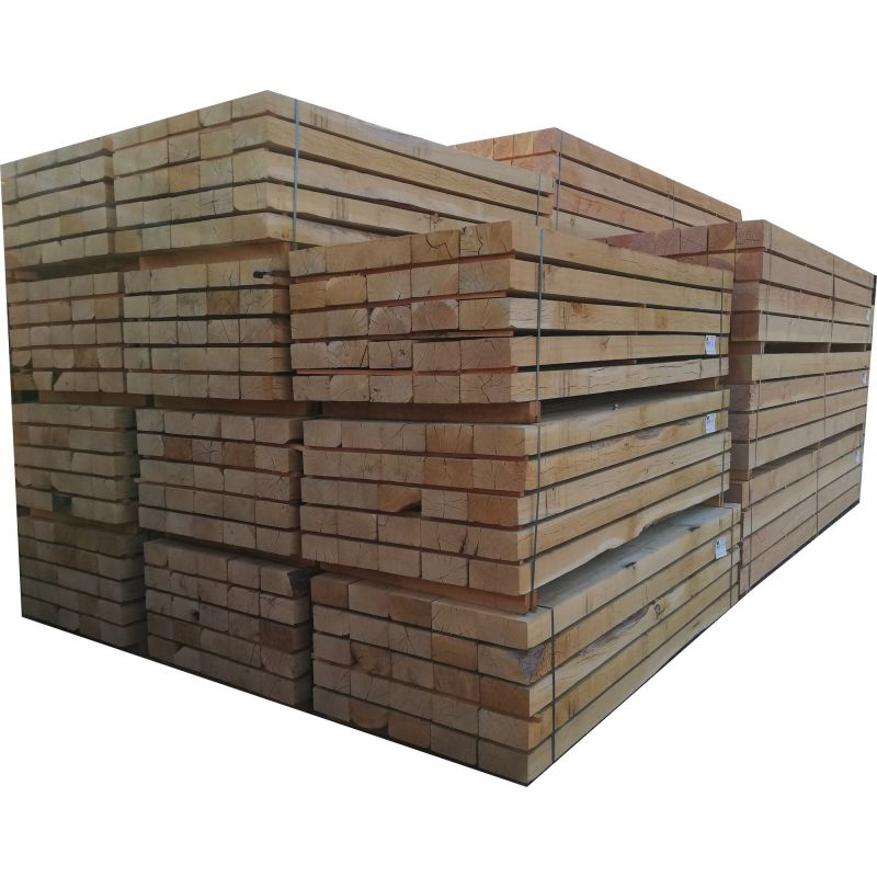vente en gros - traverses paysagère bois pas chères  livraison sur toute la france ! traverse chene 100x200mm en 2m40